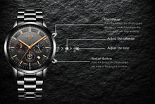 Load image into Gallery viewer, LIGE Luxury Business Waterproof Watch - KAUBI TRENDING EMPIRE