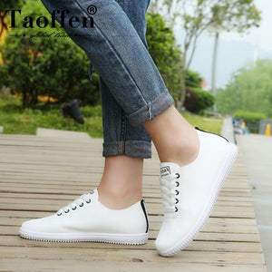 Women Sneakers Shoes Lace Up Round Toe Casual Women - KAUBI TRENDING EMPIRE