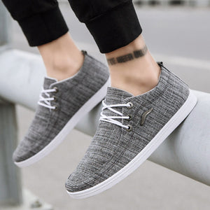 Casual men's fashion canvas Sneakers - KAUBI TRENDING EMPIRE