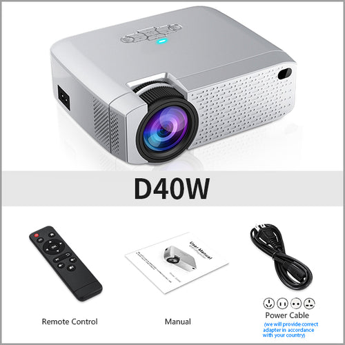 Mini LED projector Video Beamer for home Cinema - kaubi-online