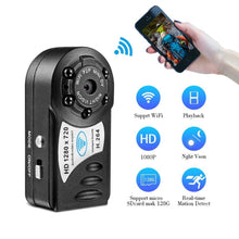 Load image into Gallery viewer, MINI WIFI DVR WIRELESS IP CAMERA - KAUBI TRENDING EMPIRE