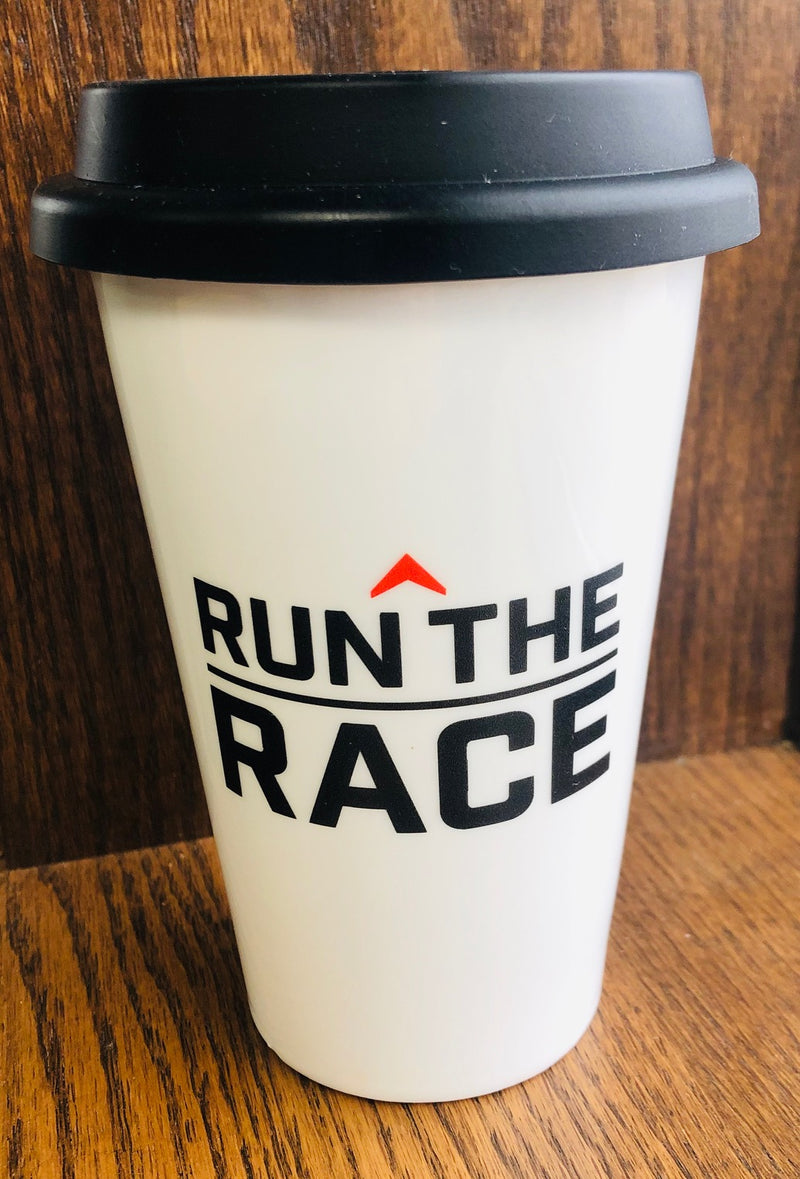 Run the Race Coffee Mug