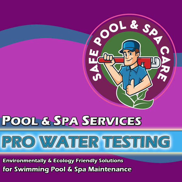 Safe Spa Micro Pro Water Test - Safe Pool & Spa Care