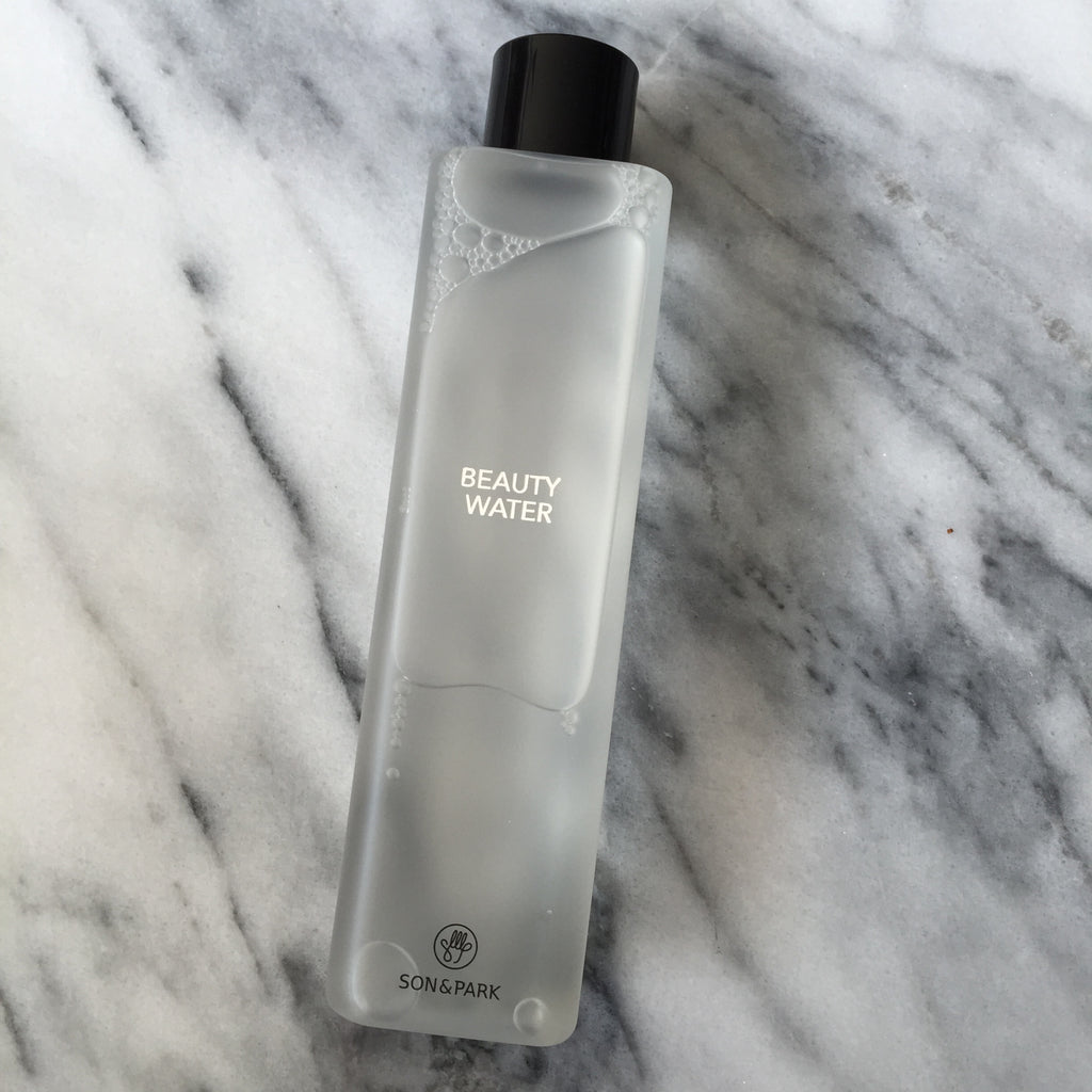 THE REVIEW: Son & Park Beauty Water