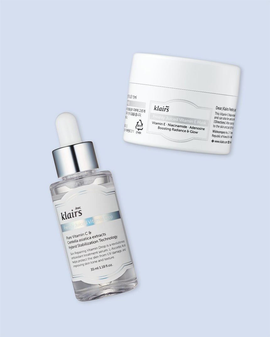 Dear, Klairs Vitamin Duo Trial Kit with two component products