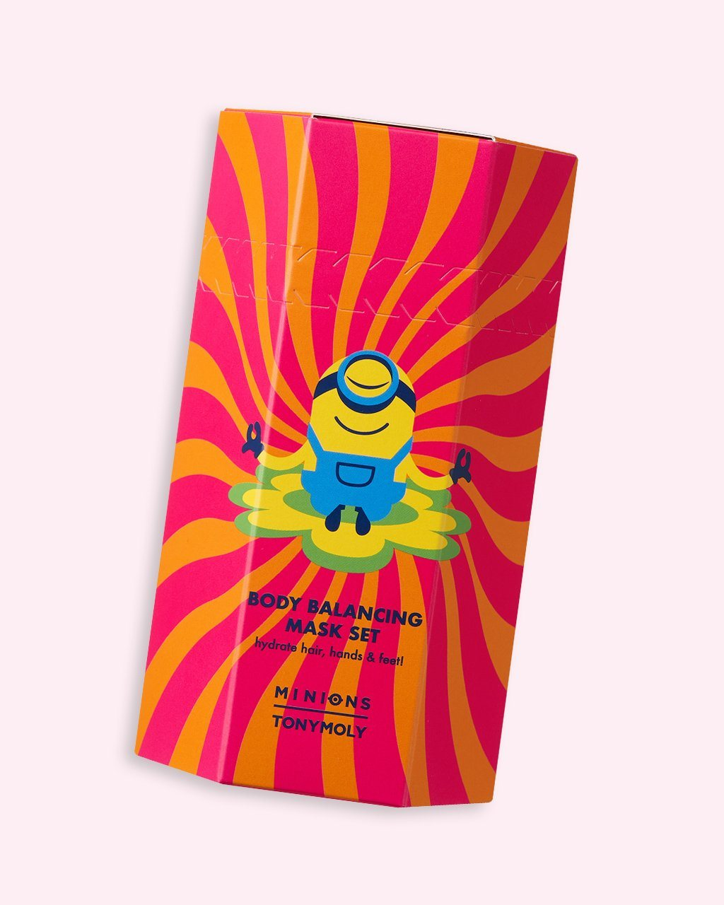 Minions Body Balancing Mask Set Product Packaging