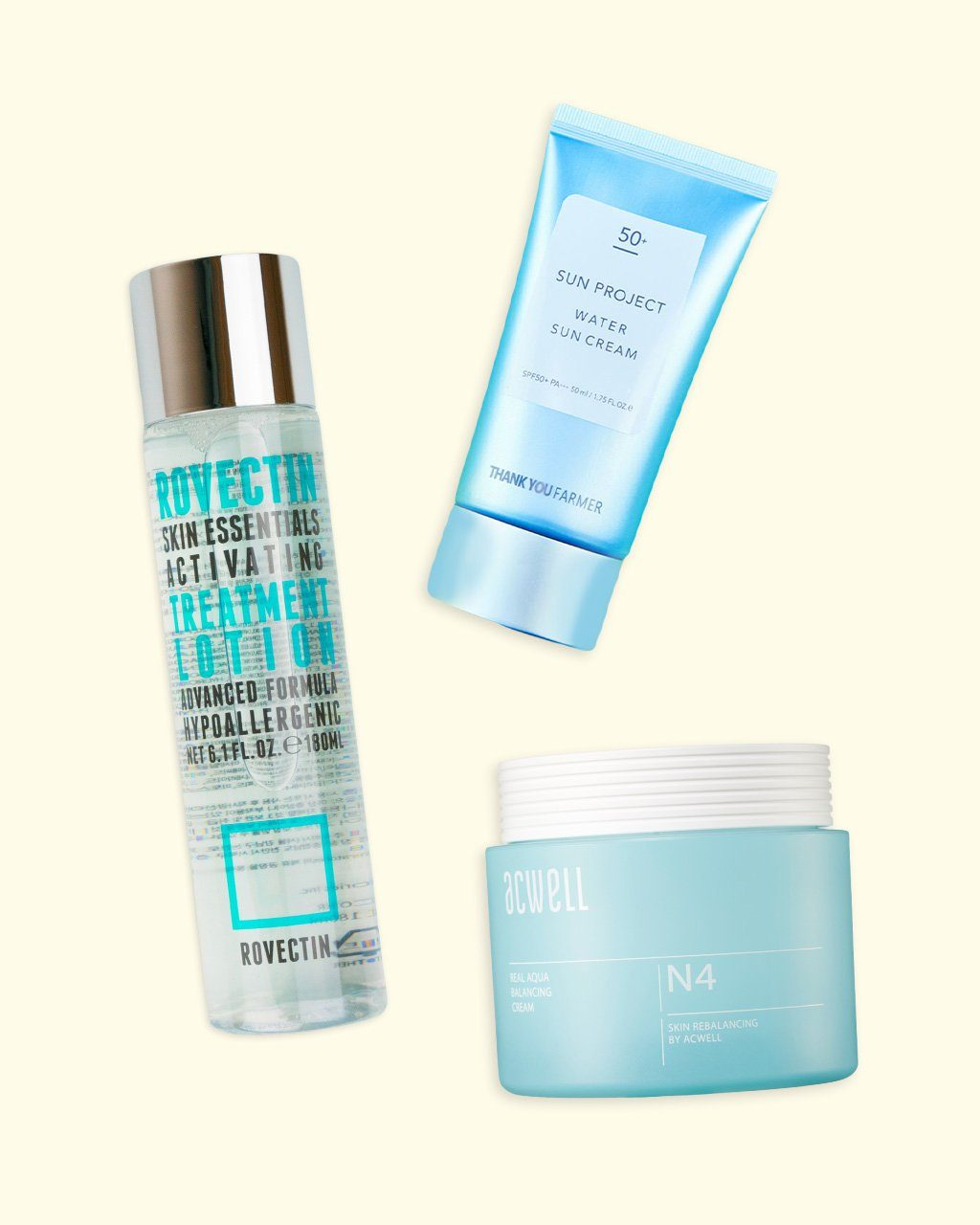 3-Step set for day skin care routine