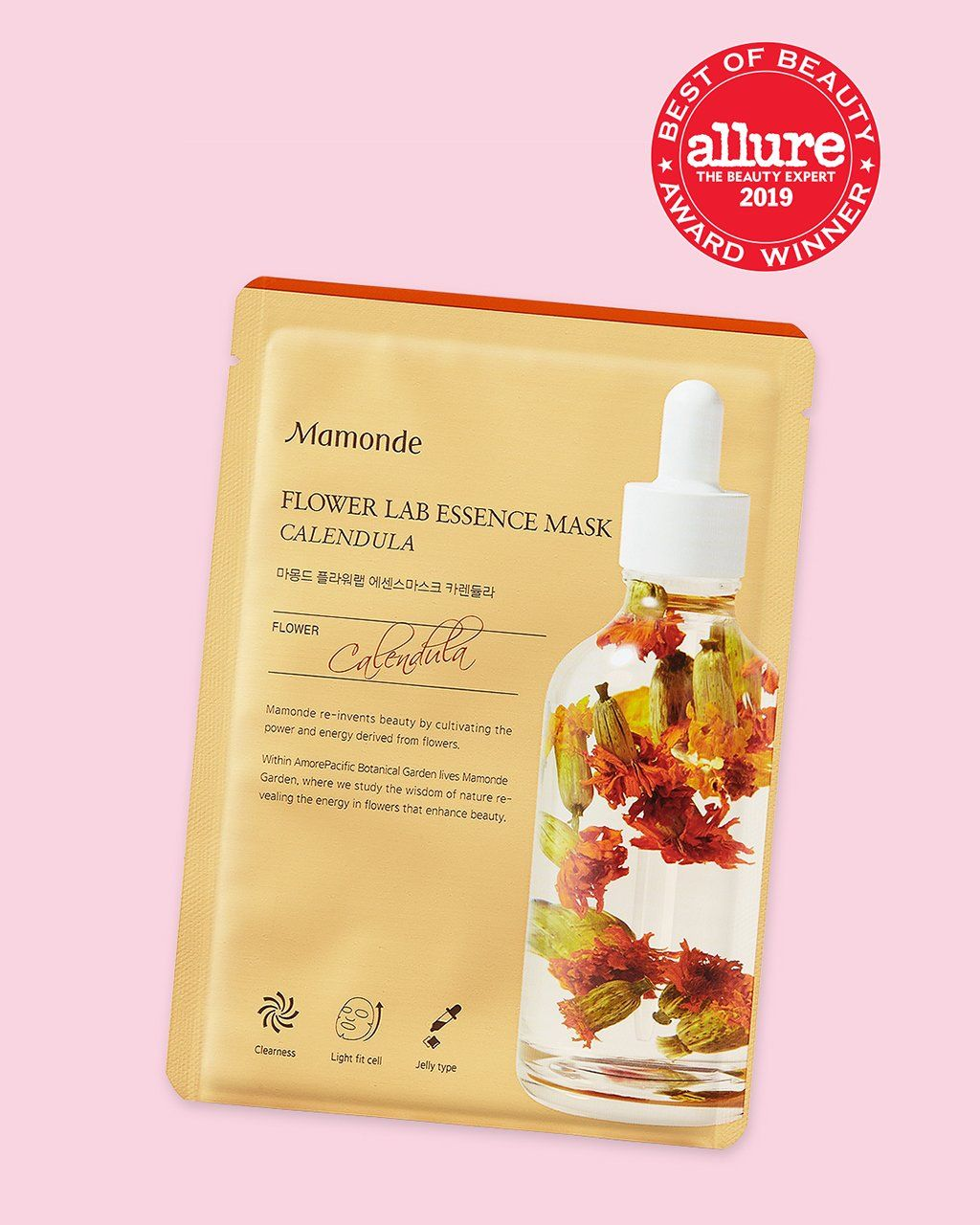 Flower Lab Essence Sheet Mask (Calendula)