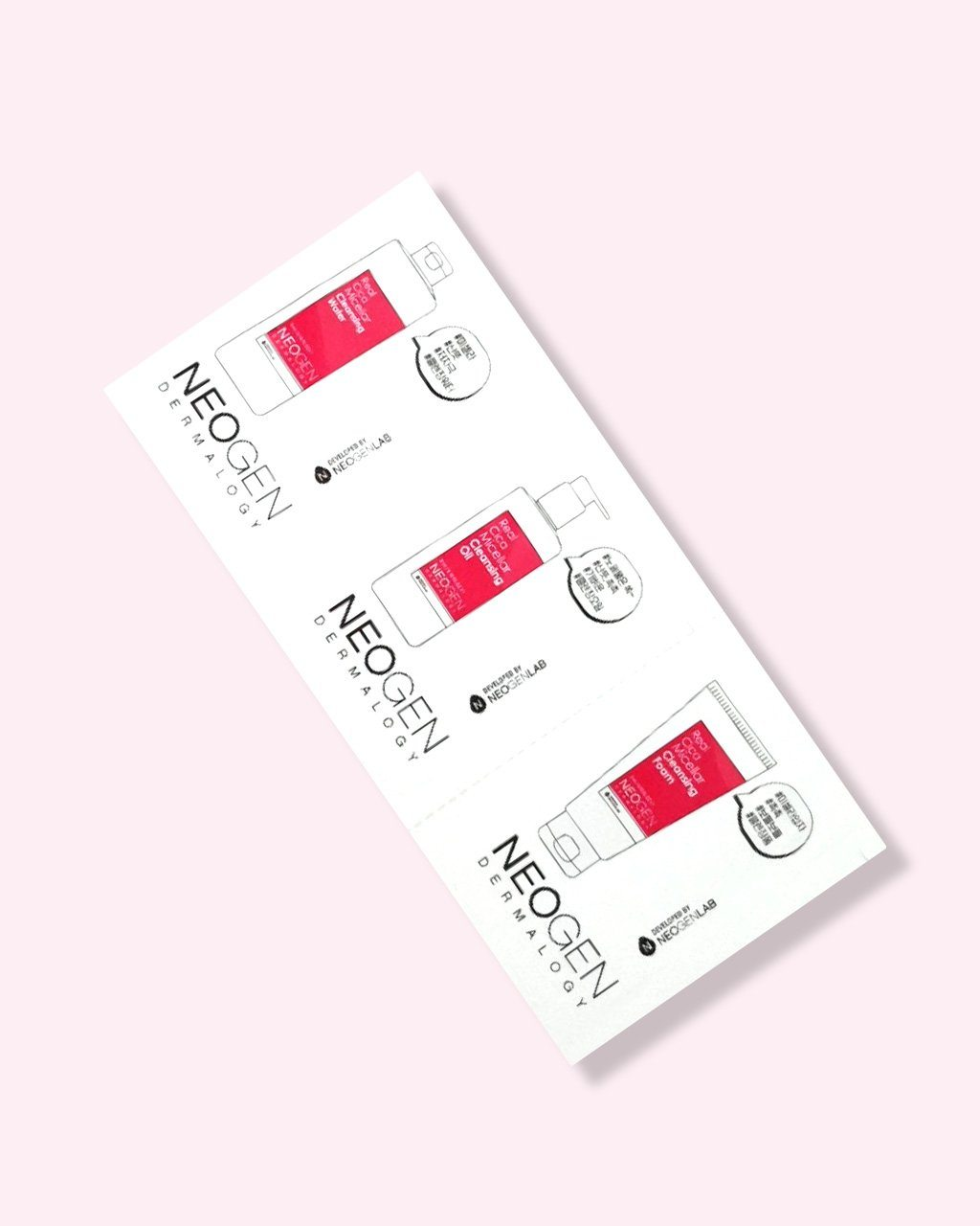 Real Cica Micellar Cleansing Sachet Sample