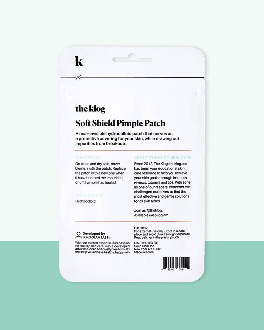Soft Shield Pimple Patch Instruction