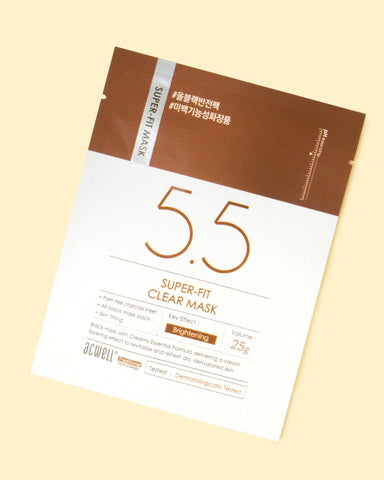 5.5 Super-Fit Clear Mask