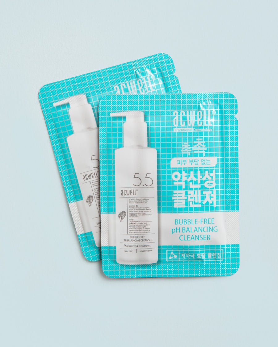 Bubble Free pH Balancing Cleanser Sample