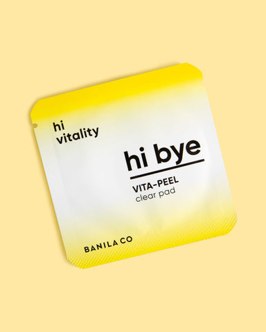 Hi Bye Vita Peel Clear Pad Flat Sample