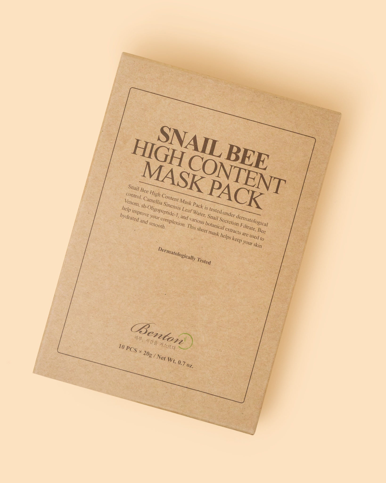 Snail Bee High Content Mask Pack (Box of 10)