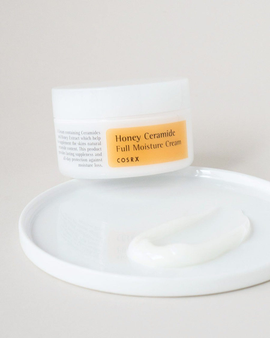 COSRX Honey Ceramide Full Moisture Cream, facial moisturizer, skin care, skincare