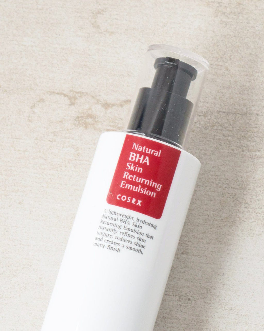 COSRX Natural BHA Skin Returning Emulsion, facial moisturizer, skin care, skincare, clean beauty