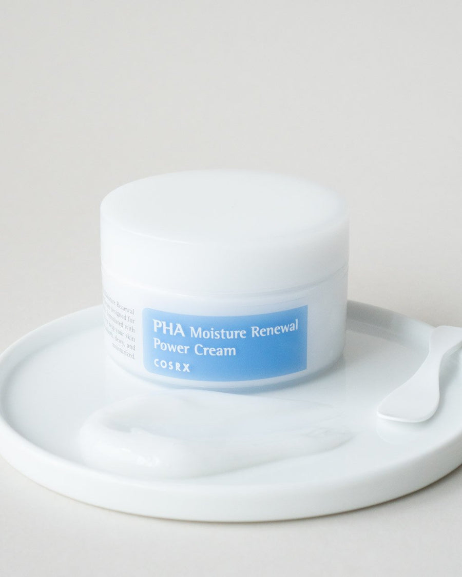 COSRX PHA Moisture Renewal Power Cream, facial moisturizer, skin care, skincare, clean beauty