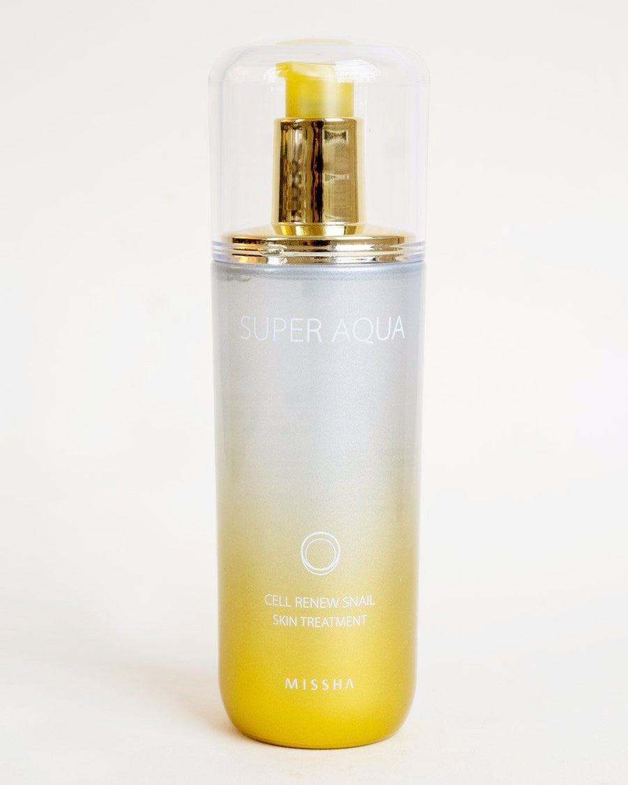 Missha Super Aqua Cell Renew Snail Skin Treatment, serum, ampoule, skincare, skin care