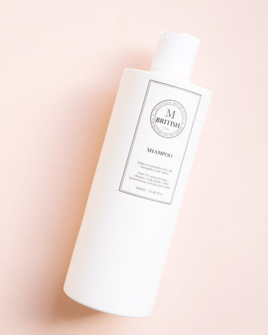 British M Ethic Shampoo, clean beauty