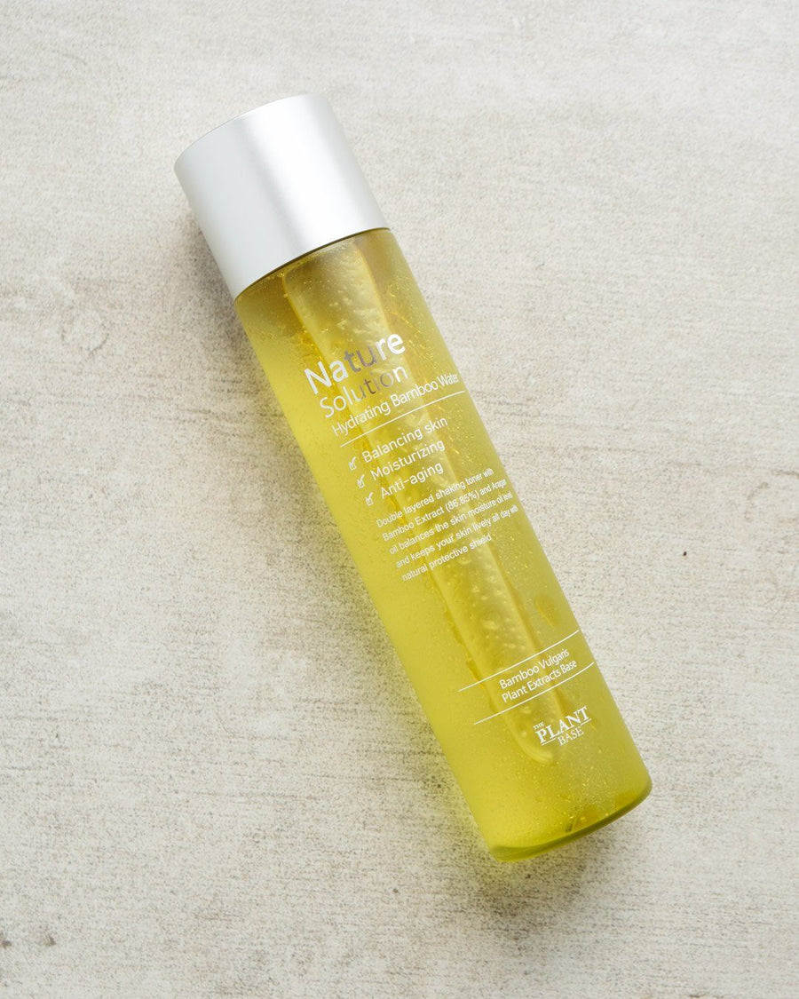 The Plant Base Nature Solution Hydrating Bamboo Water, toner, skin care, skincare, clean beauty