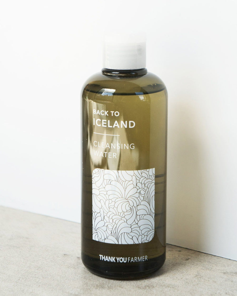 Thank You Farmer Back To Iceland Cleansing Water, cleanser, skin care, skincare, vegan beauty, vegan skincare
