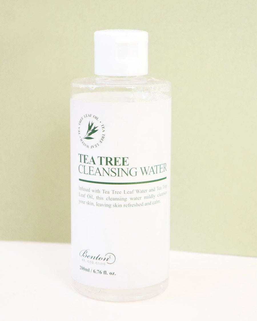 f8b2089e6a Benton, Tea Tree Cleansing Water, skincare, skin care, toner, clean beauty