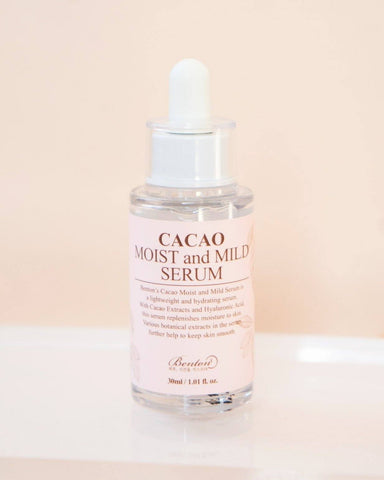 Benton, Cacao Moist and Mild Serum, skin care, skincare, serum, cacao, clean beauty, vegan beauty, vegan skincare