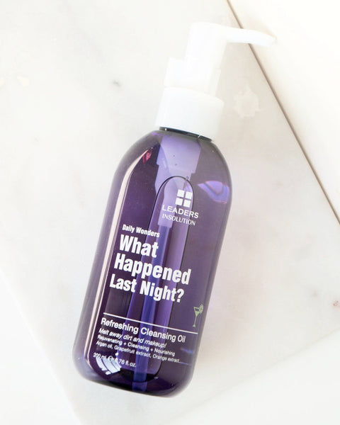 Daily Wonders What Happened Last Night? Refreshing Cleansing Oil