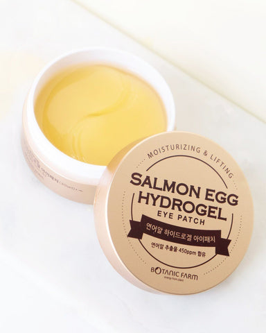 Botanic Farm Salmon Egg Hydrogel Eye Patch, skin care, skincare