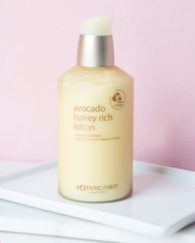 Botanic Farm Avocado Honey Rich Lotion, skin care, skincare