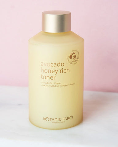 Botanic Farm Avocado Honey Rich Toner, skin care, skincare