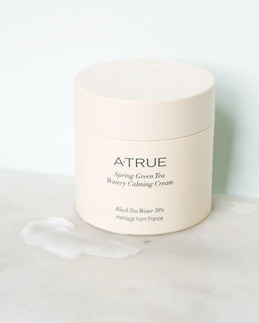 Atrue, Spring Green Tea Watery Calming Cream, skin care, skincare