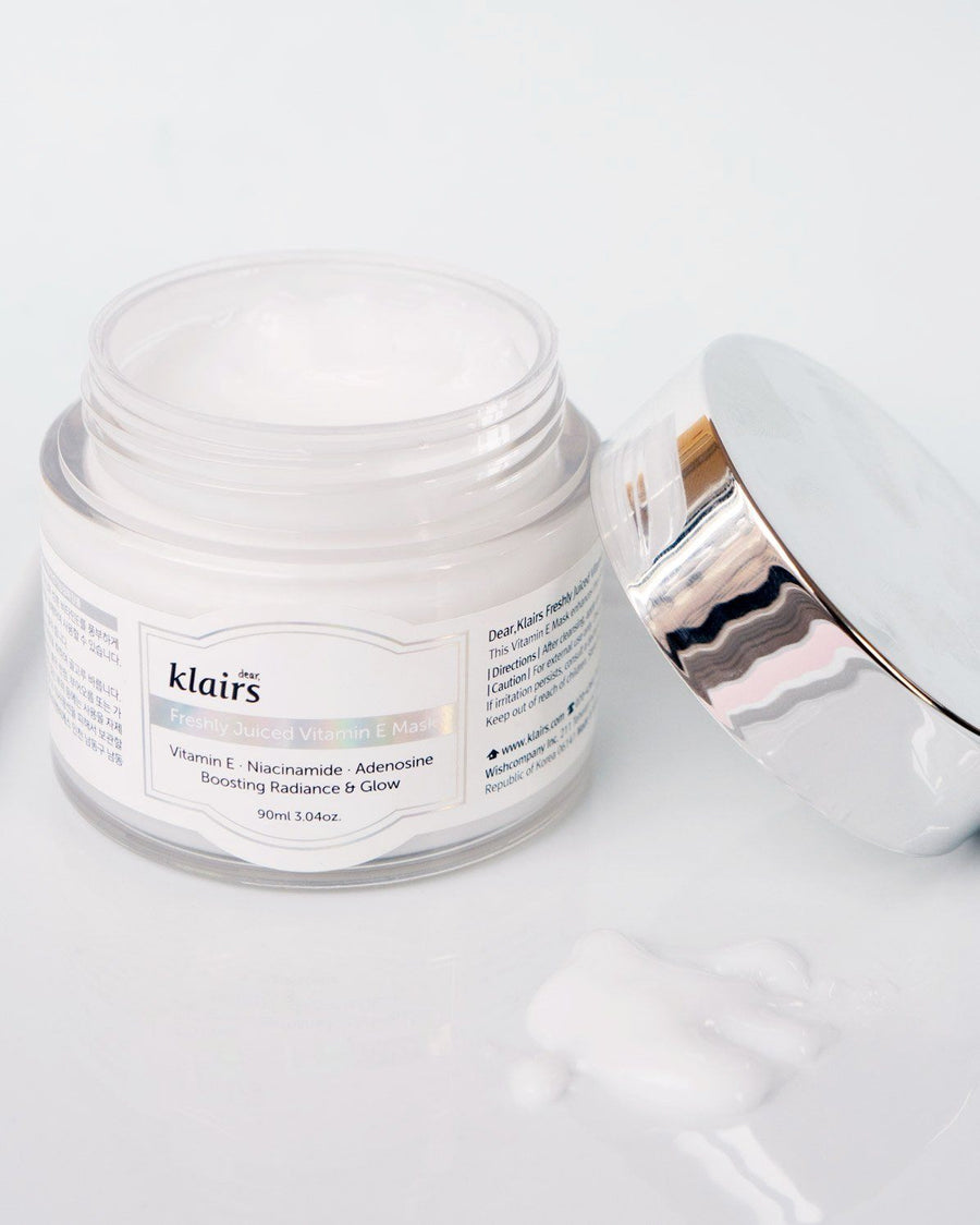 Klairs Freshly Juiced Vitamin E Mask, skincare, skin care, clean beauty