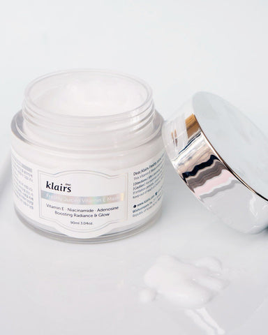 Klairs Freshly Juiced Vitamin E Mask, skincare, skin care, clean beauty, vegan beauty, vegan skincare