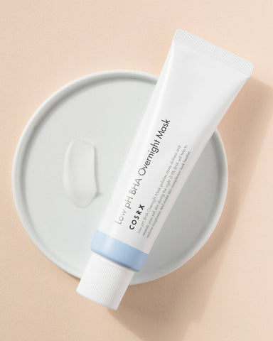 COSRX Low pH BHA Overnight Mask, skincare, skin care, clean beauty, vegan beauty, vegan skincare