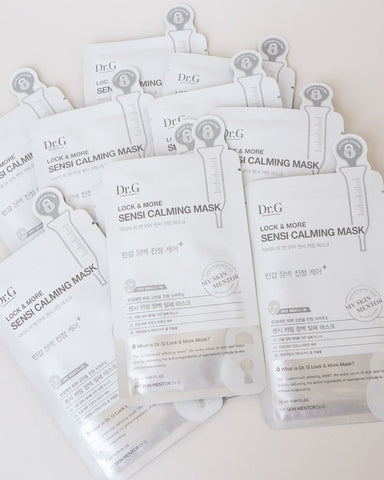 Lock & More Sensi Calming Mask (Pack of 10)
