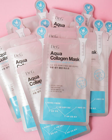 DR G Aqua Collagen Mask (Pack of 10)