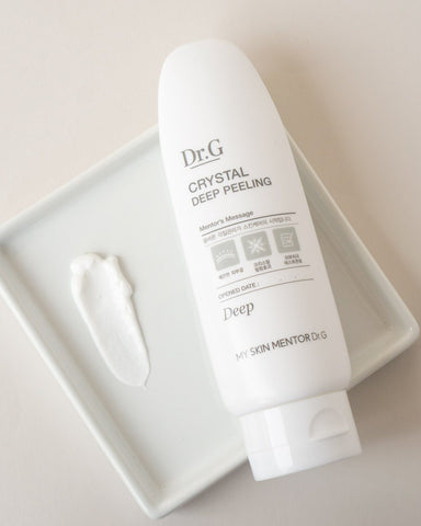 My Skin Mentor DrG Crystal Deep Peeling Exfoliator, skincare, skin care, clean beauty