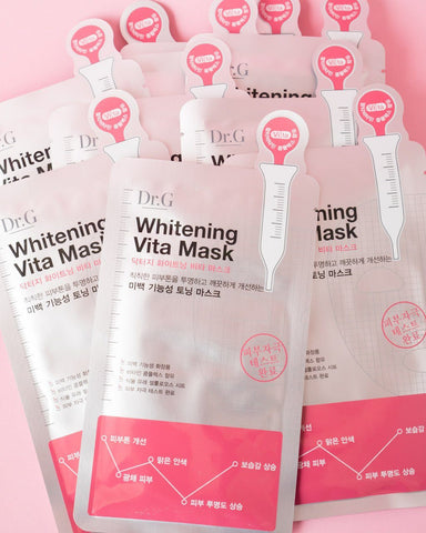 DR G Whitening Vita Mask (Pack of 10)