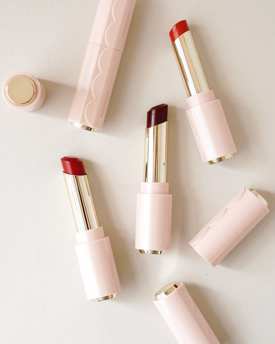 Etude House Dear My Enamel Lips Talk, lipstick, makeup
