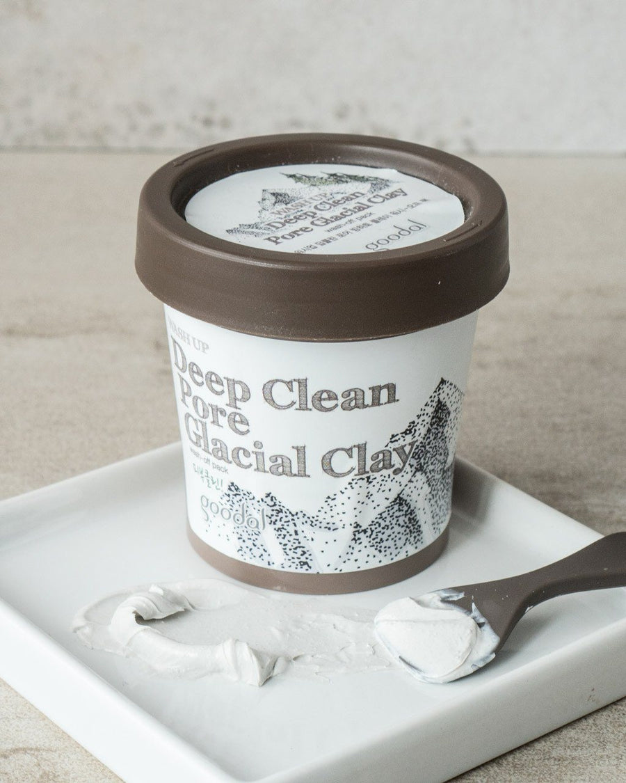GOODAL Deep Clean Pore Glacial Clay, skincare, skin care, clean beauty