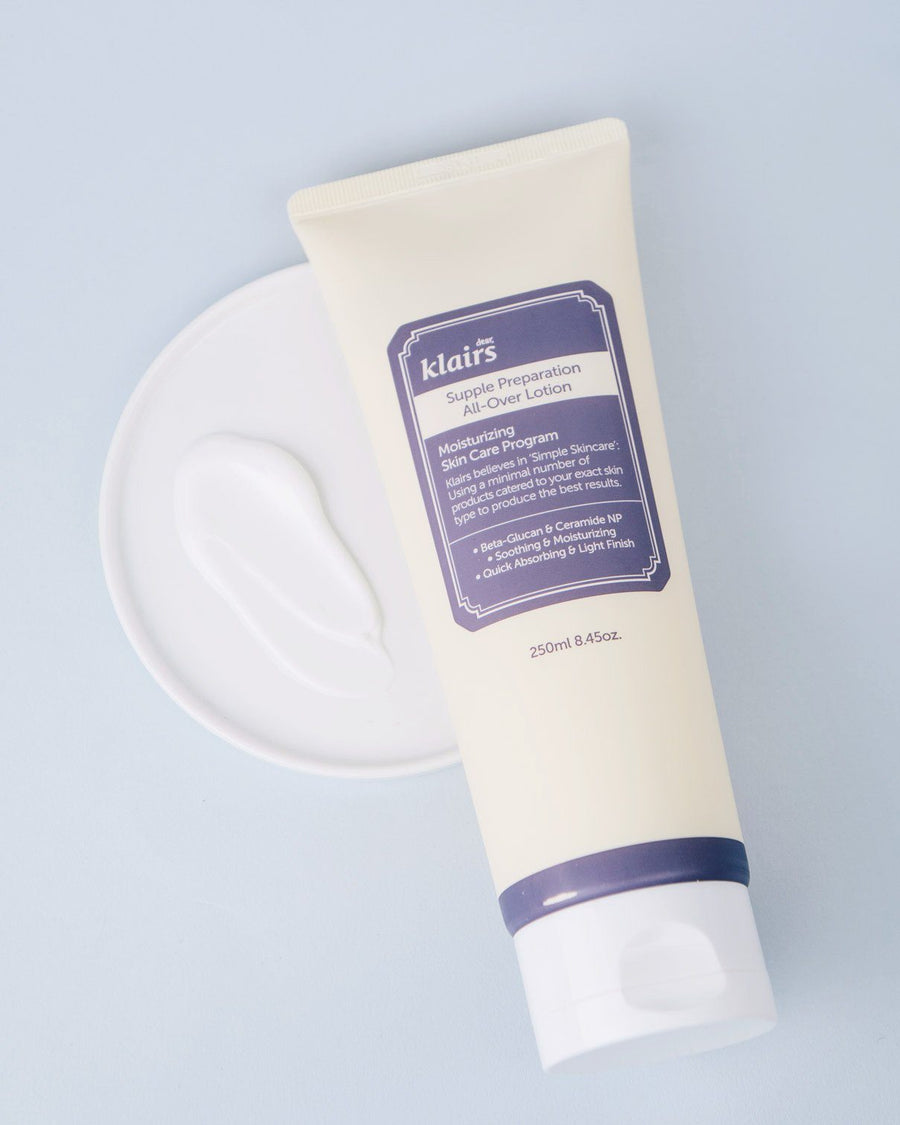 KLAIRS Supple Preparation All-over Lotion, body lotion, skincare, skin care