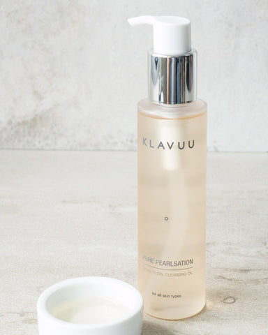 KLAVUU Pure Pearlsation Divine Pearl Cleansing Oil, cleanser, skincare, skin care