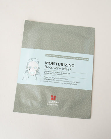 LEADERS Moisturizing Recovery Mask, sheet mask, skincare, skin care
