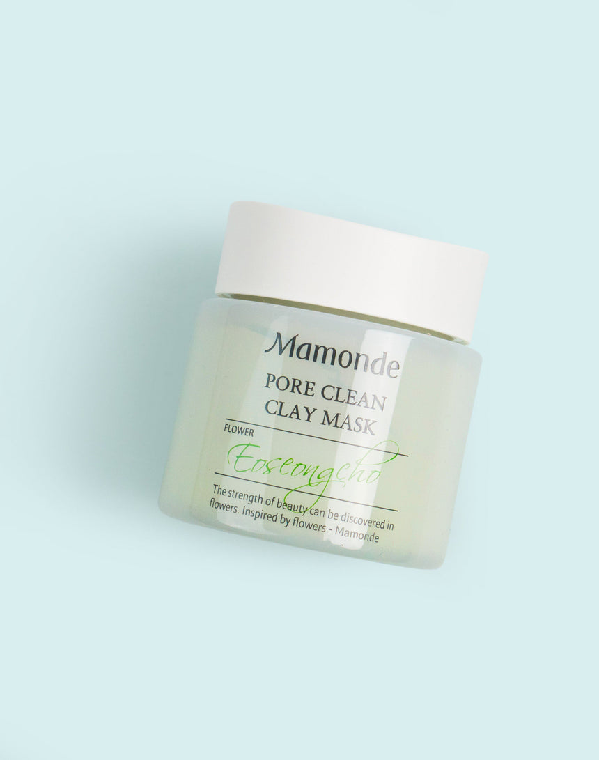 Mamonde Pore Clean Clay Mask Packaging