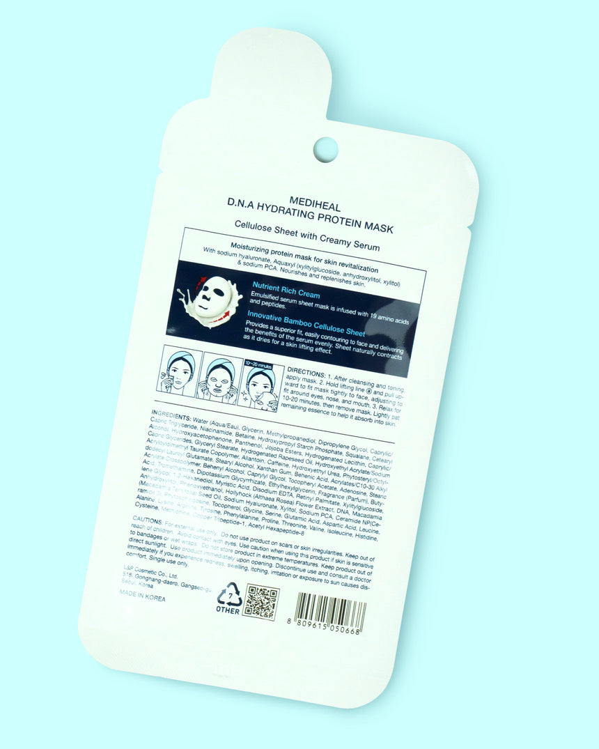D.N.A Hydrating Protein Sheet Mask