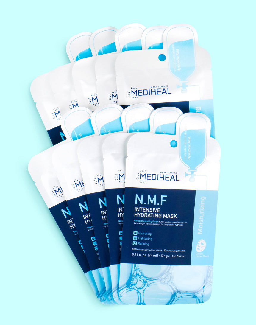 Mediheal N.M.F Intensive Hydrating Mask 10 pack