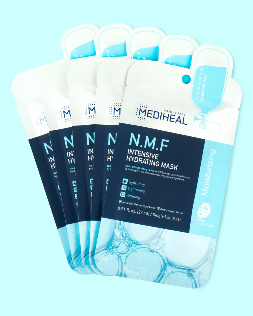 Mediheal N.M.F Intensive Hydrating Mask 5 pack