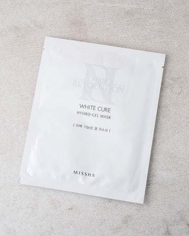 MISSHA Time Revolution White Cure Hydrogel Mask