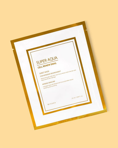 Super Aqua Cell Renew Snail Hydro Gel Mask